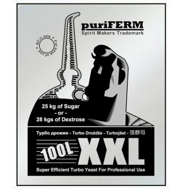 Турбо-дрожжи PuriFerm XXL Turbo 100L, 350 г