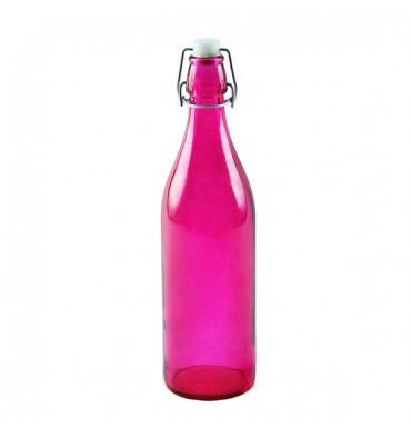 Бутылка розовая 1 л
