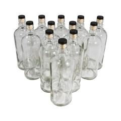Комплект бутылок с пробкой «Абсолют» 0,75 л (12 шт.)