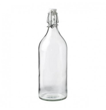 Бутылка с герметичной пробкой 1 л