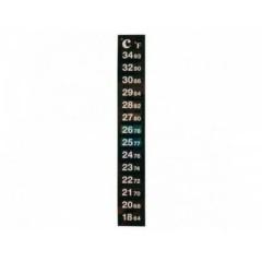 Термометр жидкокристаллический на бак 18-34 C°