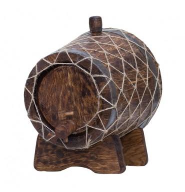 Жбан под старину 6 л Премиум (Кавказский дуб)